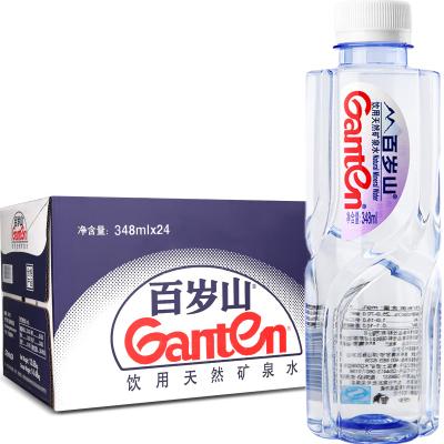 百岁山 饮用天然矿泉水348ml*24瓶 箱装 景田