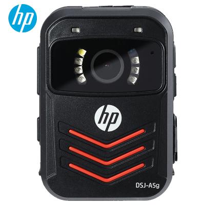 惠普(HP)DSJ-A5G執法記錄儀1296P高清紅外夜視GPS現場記錄儀 官方標配64G