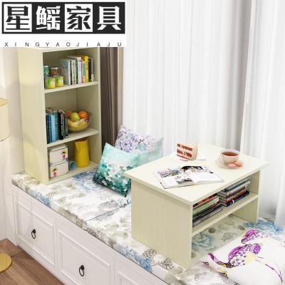 飘窗桌北欧卧室小桌阳台桌飘窗小茶几榻榻米窗边桌窗台小书桌书柜