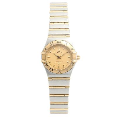 【二手95新】欧米茄OMEGA星座系列1262.10.00女表石英奢侈品钟手表腕表