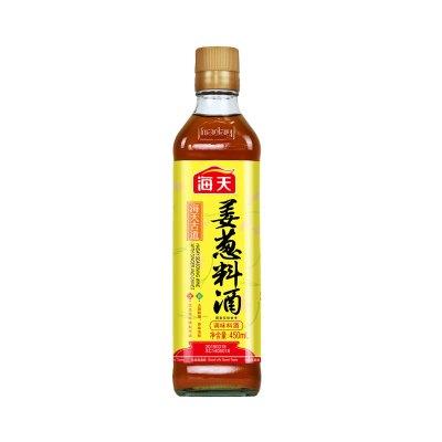 海天古道姜葱料酒450ml 香味浓郁去腥解膻 厨房调味料
