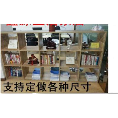 辦公室組合儲物屏風置物格子柜閃電客展示柜隔斷柜玄關文件書柜書架 120*120*30深16格 1-1.2米寬