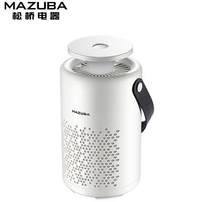 松橋(MAZUBA)滅蚊燈M-M02F 智能家用多功能滅蚊燈 物理滅蚊環保無害 電子滅蚊器 靜音小夜燈
