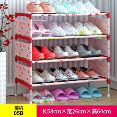 簡易鞋架 無紡布鐵藝多層組裝鞋柜客廳臥室宿舍防塵收納鞋架子