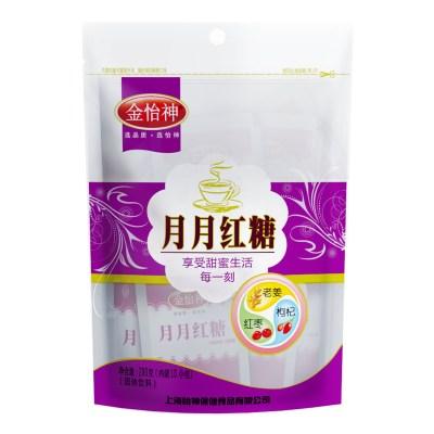 金怡神月月红糖姜茶经期红糖大姨妈古法红糖产妇手工小袋装200g