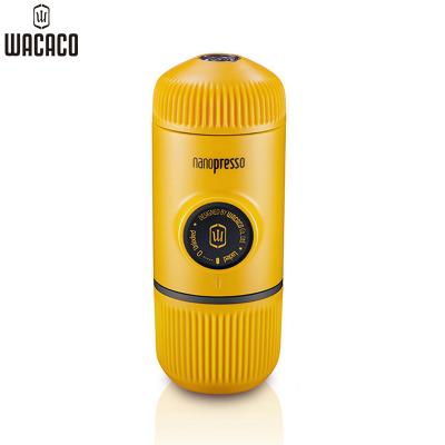 WACACO Nanopresso意式迷你便攜式手壓咖啡機粉版 二代黃色