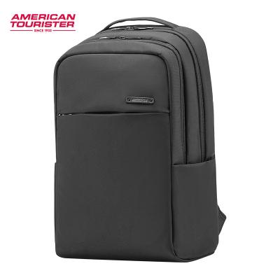 美旅雙肩包商務休閑滌綸男女通用箱包旅行背包電腦學生書包AG0
