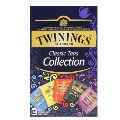 英国川宁(TWININGS) 红茶精选装20包*2g 波兰进口茶叶袋泡茶包
