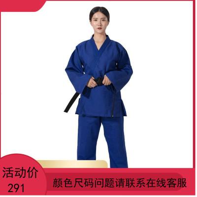 儿童柔道服装JUDO成人柔道训练服比赛衣服 合气道服 巴西柔道服