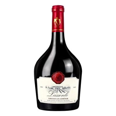 法国进口红酒 AOP干红葡萄酒750ml 单支装