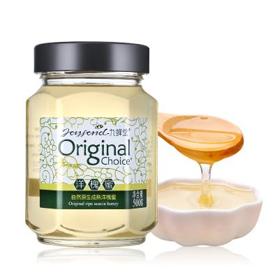 九蜂堂洋槐蜂蜜特級品認證500g 滋補洋槐花蜂蜜 液態蜜 環保玻璃瓶裝 自然成熟蜂蜜 無添加 特級品認證 非百花蜂蜜