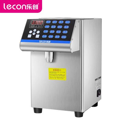 乐创(lecon)果糖机 LC-GT117A 商用果糖机 奶茶店专用小型台式 全自动16格定量机 奶茶店设备