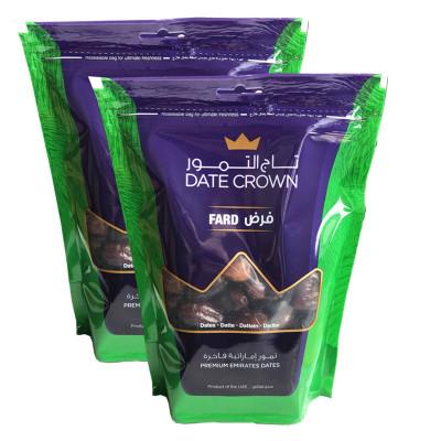 阿聯酋迪拜進口黑椰棗(500克X2袋共1000克)特產零食皇冠天然500g美味零食