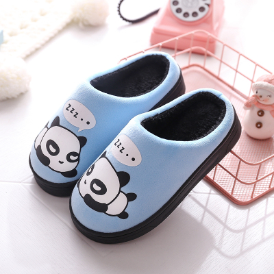 邁凱恩品牌兒童棉拖鞋秋冬寶寶卡通包跟防滑保暖男女童家居小孩棉鞋一家三口