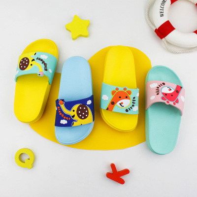 Magtoe 麥可兔2020年夏新款男童女童寶寶室內室外拖鞋 環保EVA全新料PVC浴室洗澡拖鞋KS29009