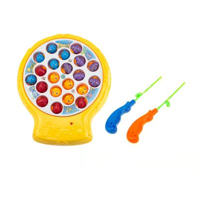 WiseBox 兒童垂釣釣魚盤玩具 磁性圓盤款