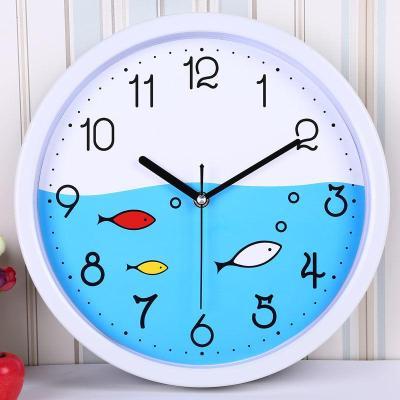 【新品特惠】時尚簡約掛鐘客廳臥室辦公室時鐘靜音卡通現代創意掛表石英鐘