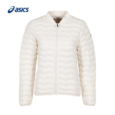 江疏影同款ASICS亞瑟士女式輕量秋冬羽絨服夾克2032A349