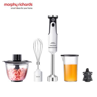 摩飛電器(Morphyrichards)MR6006多功能小型料理機嬰兒輔食機手持家用攪拌料理棒白色