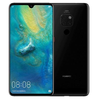 華為/HUAWEI Mate 20 亮黑色 6GB+128GB 麒麟980芯片全面屏徠卡三攝移動聯通電信4G全網通手機