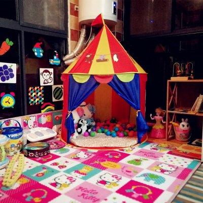 兒童游戲帳篷蒙古包公主城堡屋男孩女孩過家家玩具寶寶室內小房子