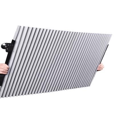 intermail汽车遮阳帘防晒隔热遮阳挡自动伸缩遮光挡风玻璃遮阳板70cm