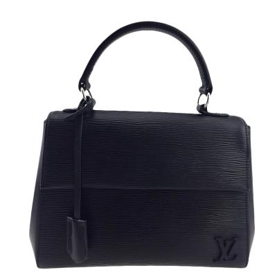 【正品二手99新】路易威登 LV 黑色 水波紋 CLUNY BB 手提包 單肩包 女包 25.5*19