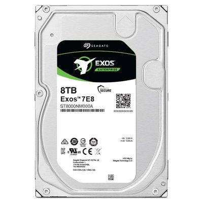 希捷(Seagate) 8T 256M 7200RPM 企业级硬盘SATA接口银河Exos 7E8系列ST8000NM000A