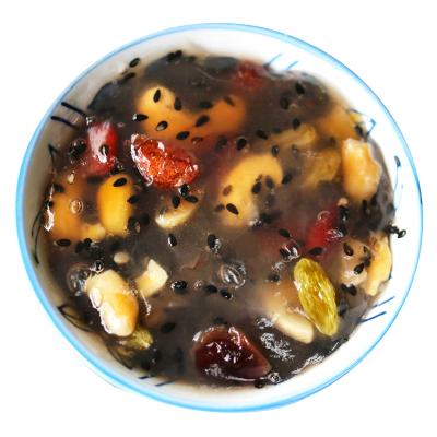 云娘食記 堅果藕粉羹 營養五谷水果核桃藕粉羹即食早餐非無糖