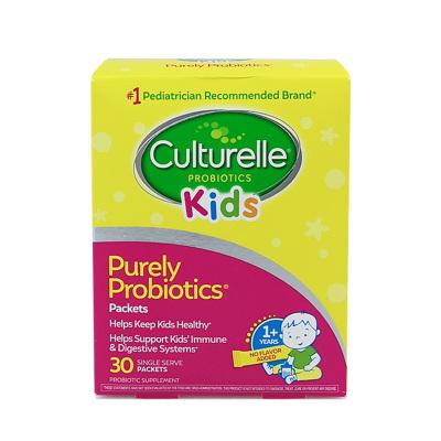 【調理腸胃兒童益生菌】美國進口康萃樂(Culturelle)營養素嬰兒寶寶LGG益生菌粉 30支/盒裝