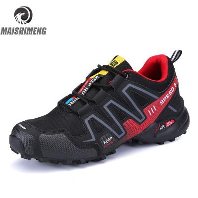 【精品特賣】戶外男士徒步登山鞋防滑耐磨越野跑步鞋速3運動男鞋旅游鞋 邁詩蒙
