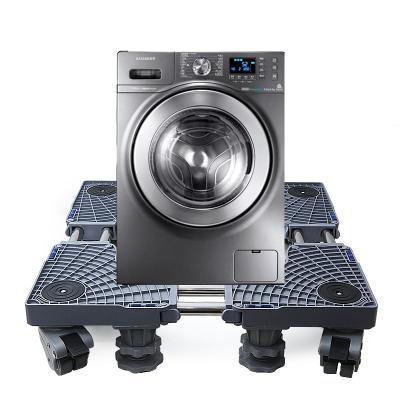海尔洗衣机底座托架西门子不锈钢滚筒松下三洋小天鹅移动双管八脚四双刹洗衣机底座HTTY19R1X3