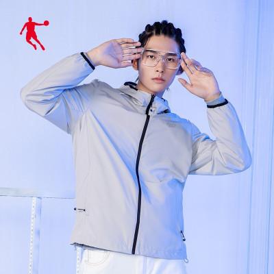 喬丹運動外套男秋季新款防風運動風衣男士休閑夾克男運動服