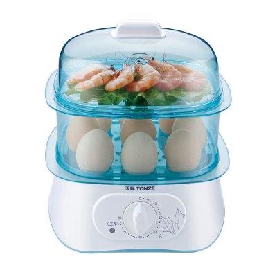 天際煮蛋器DZG-W30Q 自動斷電 蒸煮熱消毒 智能定時 小型早餐機多功能蒸鍋 家用蒸蛋器 雙層款