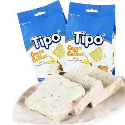 越南進口Tipo友誼牌面包干芝麻味135g*2袋270g包郵早餐餅干休閑零食品