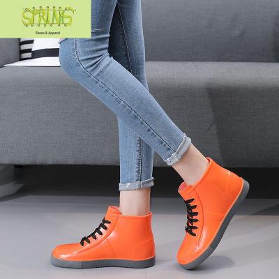 夏季雨鞋女韓國可愛時尚款外穿水鞋雨靴短筒成人防水防滑低幫廚房  語婁