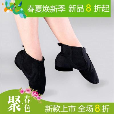 肚皮舞蹈鞋软底练功鞋女成人芭蕾舞鞋猫爪鞋考试跳舞鞋形体瑜伽鞋