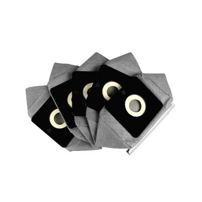 万创适配美的海尔伊莱克斯龙的吸尘器尘袋配件布袋尘袋垃圾袋过滤水洗袋子通用织物类尘袋
