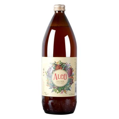原裝進口小麥白啤酒西班牙原裝進口阿爾寇啤酒1L*6瓶裝整箱