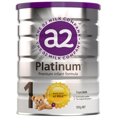 4罐裝 | 澳洲a2Platinum白金版嬰幼兒奶粉1段900g(0-6個月)