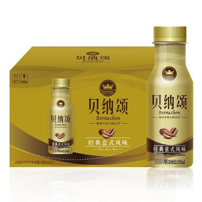 康師傅 貝納頌經典意式風味280ml*15瓶裝 整箱裝 咖啡飲品飲料(含糖)