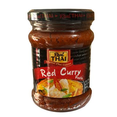 丽尔泰REALTHAI红咖喱酱227g瓶装泰国进口咖喱鸡咖喱蟹火锅酱料
