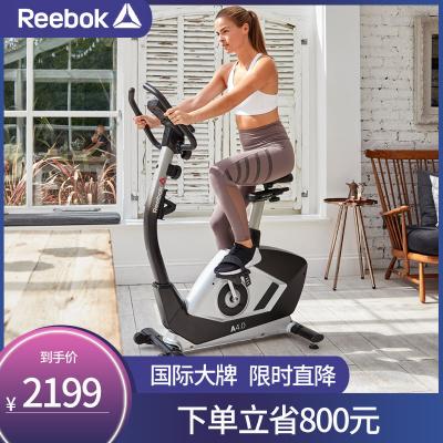 【锐步年度新款】英国REEBOK锐步磁控式健身车动感单车直立式家用静音室内健身车A4.0B