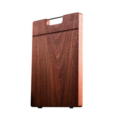 双枪整木乌檀木切菜板砧板实木家用防霉擀面案板粘板刀板菜450*300*30ZB3345