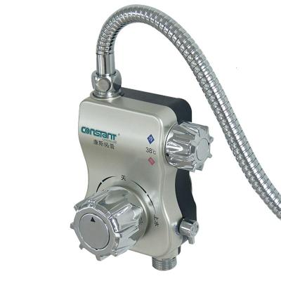 小蠻腰太陽能熱水溫控器明裝自動調溫混水恒溫閥淋浴龍頭 KSTP-8恒溫閥1只