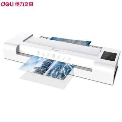 得力(deli)14318塑封機 A4過塑機覆膜機 家用小型過膠機照片相片壓膜機熱裱封膜機 覆膜機/塑封機