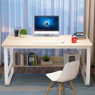 辦公桌電腦桌臺式簡易書桌家用學生寫字桌簡約現代桌子臥室學習桌