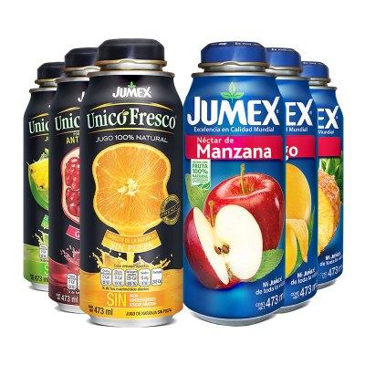 Jumex 果美樂果汁 進口果汁4瓶裝(液體偏遠地區不發貨)口味隨機發貨