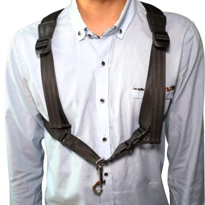 中音次中音萨克斯管配件背带双肩学生儿童成人用加厚管乐脖带挂带