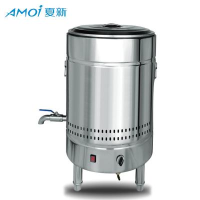 夏新煮面機商用電熱平底煮面爐燃氣節能下面機湯面爐多功能煲湯保溫桶燃氣版款60型號150L